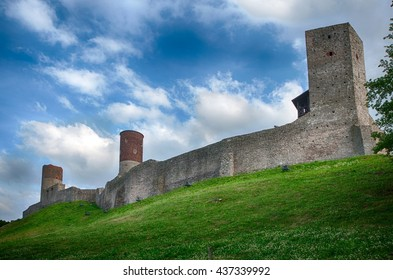 Checiny castle, Poland.