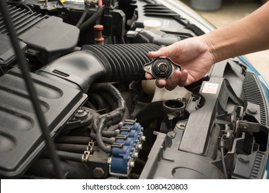 Check car yourself, Check water in Car radiator