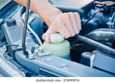 Check the condition of the car engine.