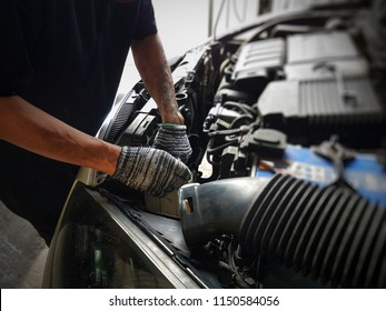 Check the condition of the engine by a specialist car repair.