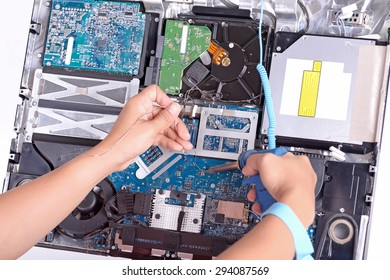 check and fix a dirty broken computer