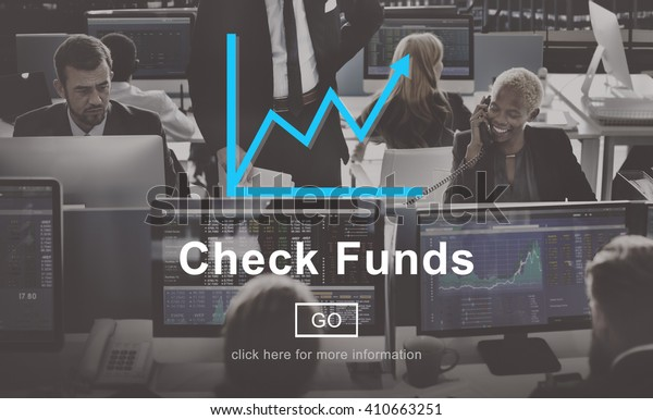 Check Funds Progress Chart Interface Concept