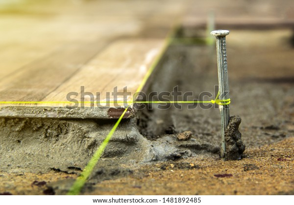 Check Level Tiling Outdoor Around House Stock Photo Edit Now
