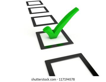 Check Liste List Symbol Gr�¼n Green Color