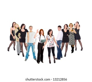"""check mark made of people  - See similar images of this """"Business Concepts"""" series in my portfolio"""