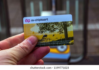 Check In At A NS Station Gate Diemen The Netherlands 2018