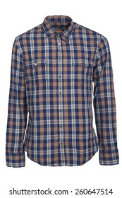 check pattern shirt isolated