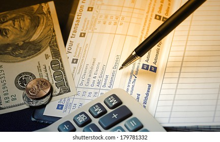 Check Register: A check register is your personal record of your checking account, helps you stay on top of transactions in your account, identify mistakes, catch identity theft, avoid bounced checks.