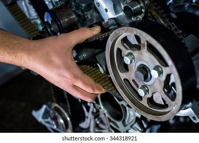 Check the timing belt