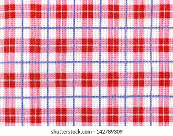 checkered dishcloth background