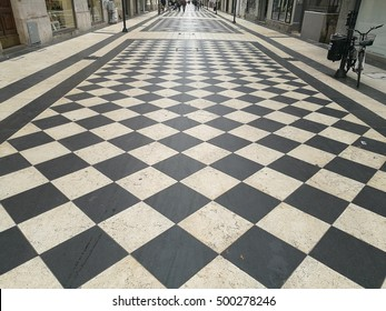 checkered floor in pescara