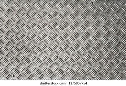 Checkered Plate Metal Sheet Floor
