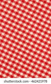 Checkered Tablecloth Texture/ Checkered Tablecloth Texture