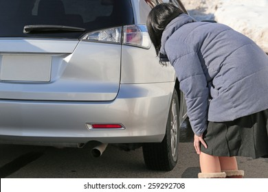 Checking a new car
