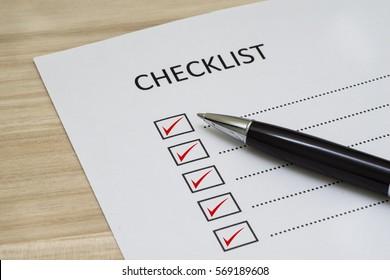checklist images stock photos vectors shutterstock