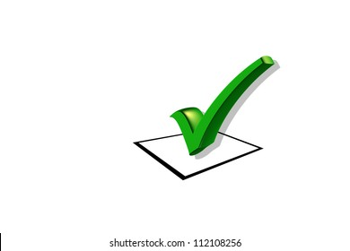 Checklist Isolated