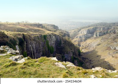 Cheddar Gorge, Mendip Hills, Somerset, England