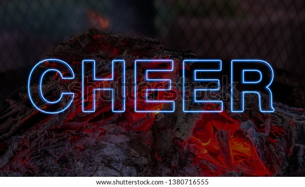Cheer Motivational Quotes Stock Photo (Edit Now) 1380716555