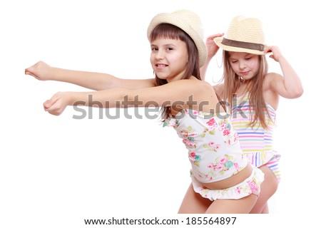 Funny little girl swimsut pic 633