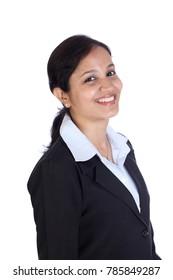 Cheerful Indian businesswoman
