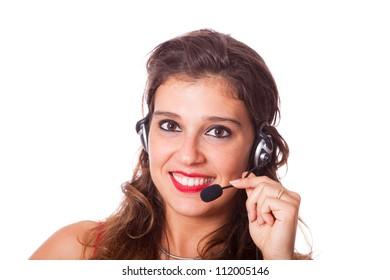 Cheerful Receptionist