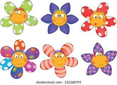 cartoon flowers images stock photos vectors shutterstock rh shutterstock com cartoon flower images to color cartoon flower images to color