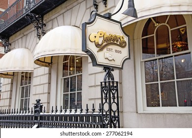 """""""Cheers Bar"""" featured in """"Cheers"""" TV show, Established in 1895, Boston, MA., New England, USA"""