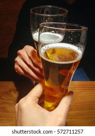 Cheers with beers, Pub Seoul in Korea