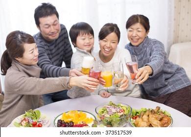 Cheers, family,