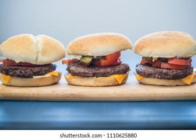 Cheese Burger Sandwich