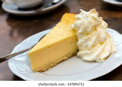 Cheese Cake with whipped Cream