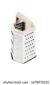 A cheese grater isolated on a white background
