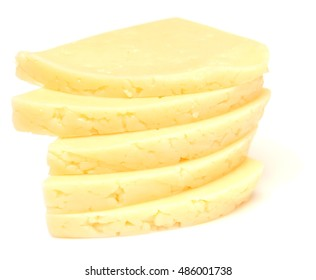 cheese isolated on white background