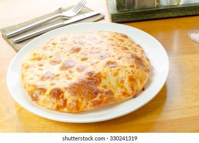 Cheese khachapuri
