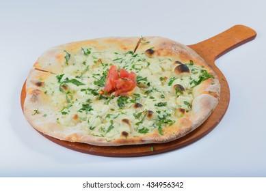 Cheese Manakish - Flatbreads