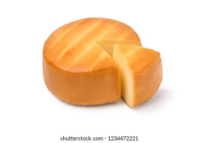Cheese on white background. File contains a path to isolation.