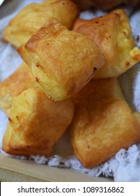cheese pastry in close up