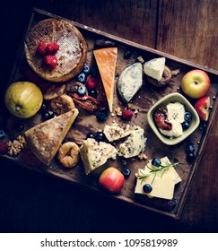 Cheese platter food photography recipe idea