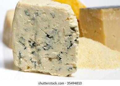 Cheese Roquefort Macro