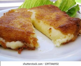 cheese saganaki fried cheese greek food greek cuisine mediterranean diet