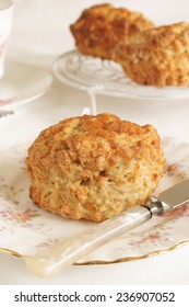 Cheese scones a savoury variety of the more traditional sweet scone