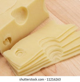cheese sliced swiss fresh daily product gourmet