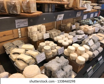 Cheese store at a local market