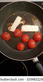 cheese and tomato fried