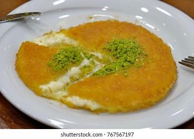 Cheese Turkish dessert-Kunefe