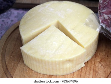 Cheese. Yellow cheese. Kashkaval. Kashkaval is a type of yellow cheese made of cow milk (vitosha), sheep milk (balkan), or both (preslav). Italian caciocavallo. Straddled forms of caciocavallo
