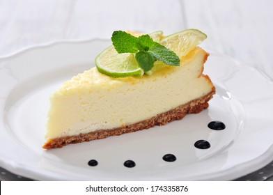 lime cheesecake svenska