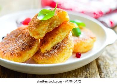 Cheesecakes, pancakes