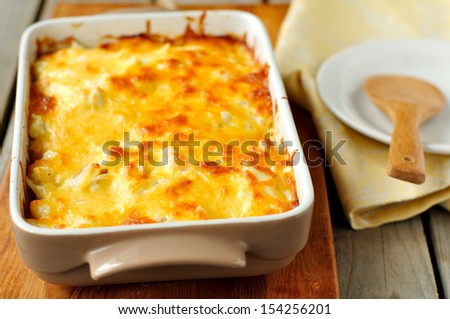 Cheesy bake