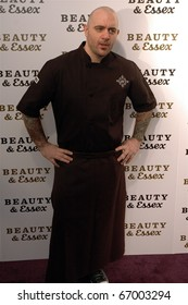 Chef Chris Santos attends Beauty & Essex Red Carpet in downtown Manhattan,NY on December 10, 2010.